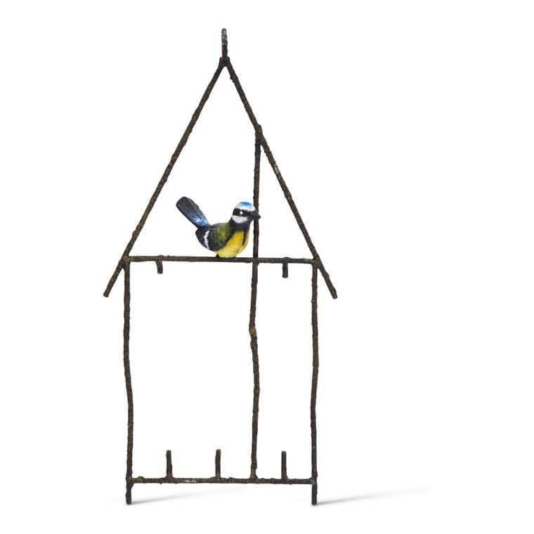 Porte-graisse métal Oiseau 396267