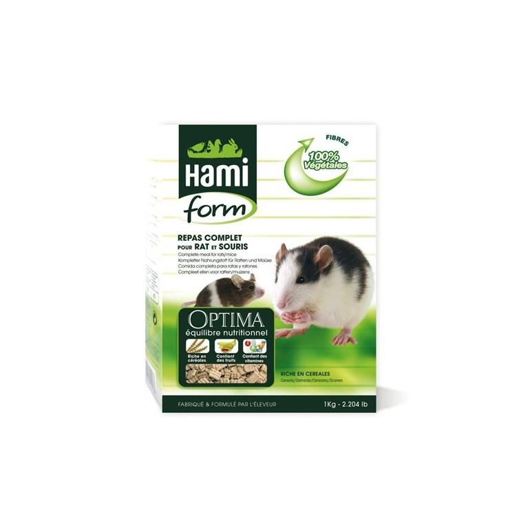 Repas complet rat et souris Hamiform 1 kg 397819