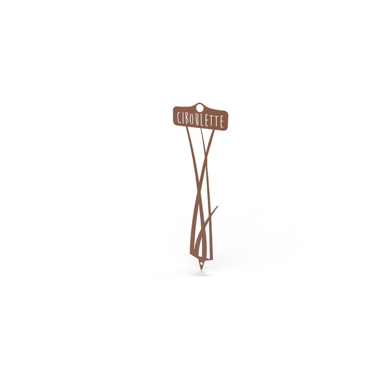 Étiquette Ciboulette 34,5 cm 398205