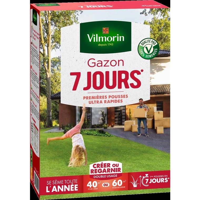 Gazon Prise rapide en 7 jours vilmorin 1 kg