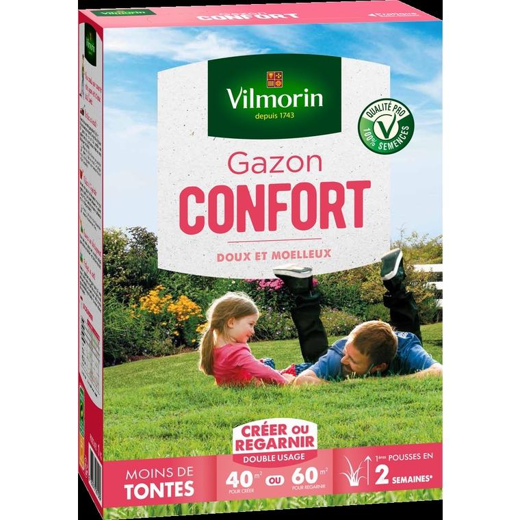 Gazon Gamme confort vilmorin 1 kg