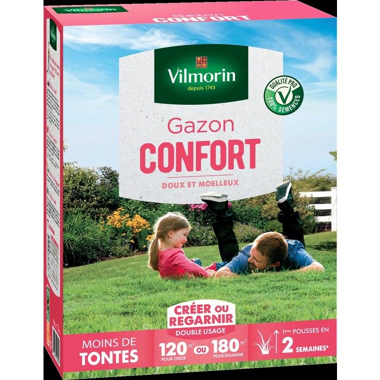 Gazon gamme confort Vilmorin 3 kg