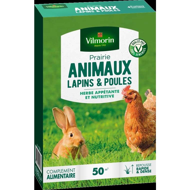 Prairie pour lapins et poules Vilmorin 500 g
