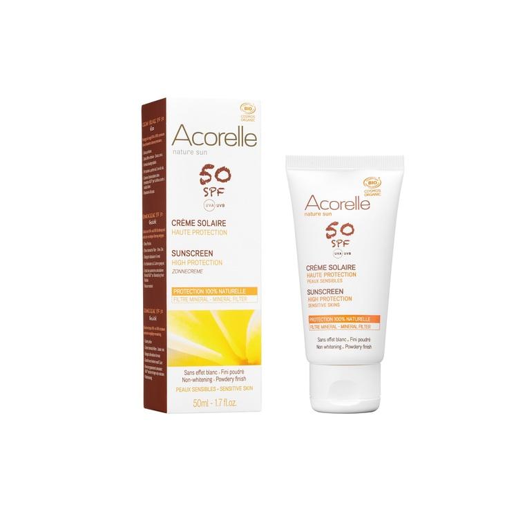 Crème solaire visage SPF 50 – 50 ml