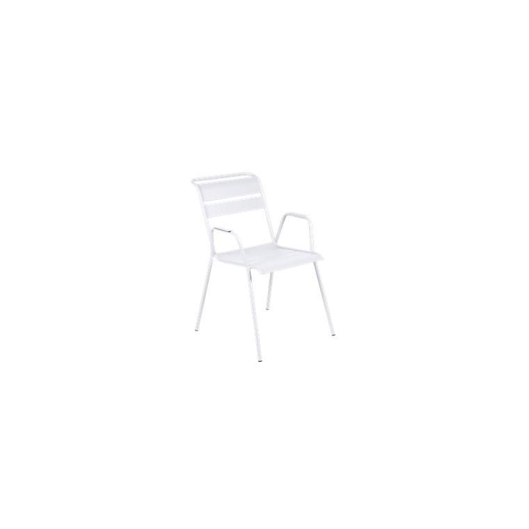 Fauteuil Monceau XL coloris blanc coton Fermob