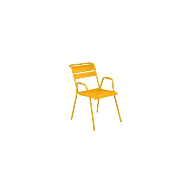 Fauteuil Monceau XL coloris miel Fermob