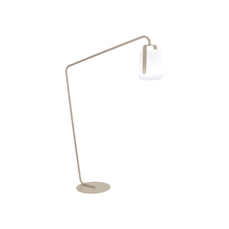 Pied déporté beige pour lampe Balad Fermob Ø 44 x H 190 cm