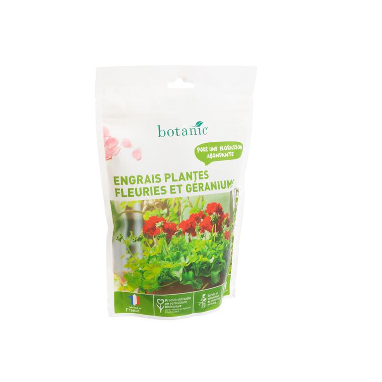 Engrais géraniums et fleurs 750 gr botanic®