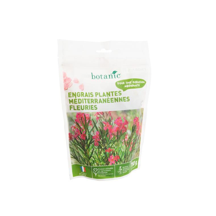 Engrais plantes méditerranéennes fleuries 750 gr botanic®