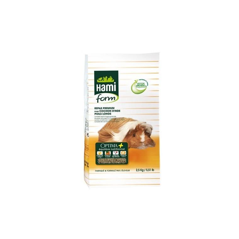 Repas premium cobaye poils long Hamiform 2.5 kg
