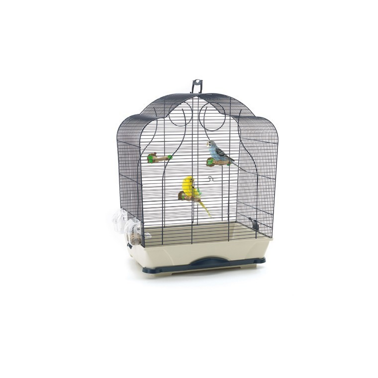 cage a oiseaux jardiland cage oiseaux isabelle bleu savic botanic. Black Bedroom Furniture Sets. Home Design Ideas