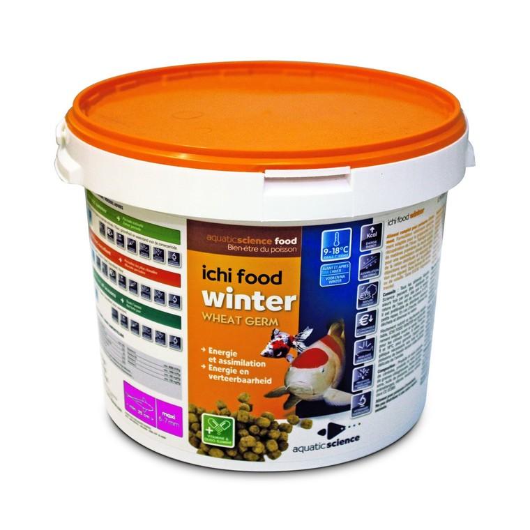 Nourriture poisson de bassin Ichi food winter medium 2 kg