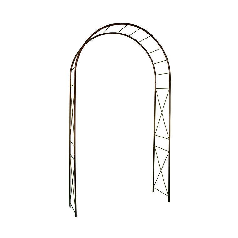 Arche double avec décor losange, coloris vert H.200cm