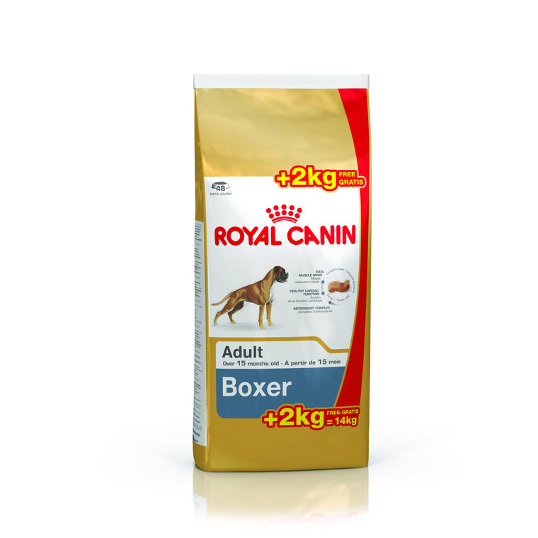 Boxer Adult royal canin 12 kg dont 2 kg offerts