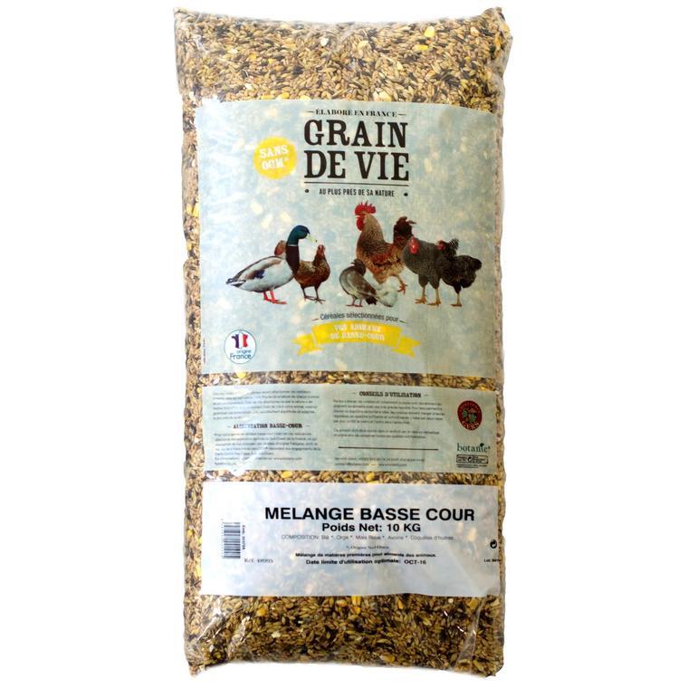 Mélange de céréales animaux de la basse cour 10 kg