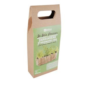 Kit pour jardinière aromatique bio