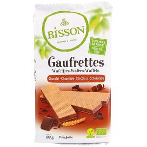 Gaufrettes au chocolat bio en sachet de 190 g 405000