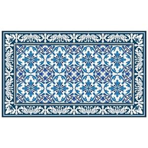 Paillasson azuleros petit format pour intérieur 97 x 58 cm 406130