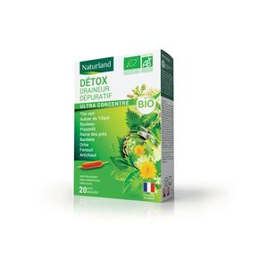Détox bio en format 20 x 10 ml 406879