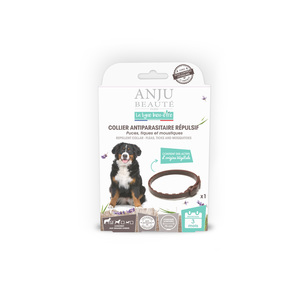 Collier insectifuge pour grand chien 75 cm 407133