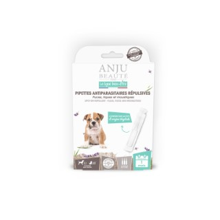 Pipette insectifuge pour chiot x 3 407134