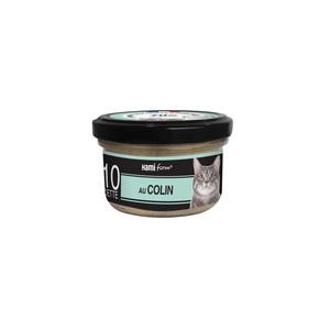 Aliment pour chat Recette n°10 au colin, au fromage et au riz 80 g 407755