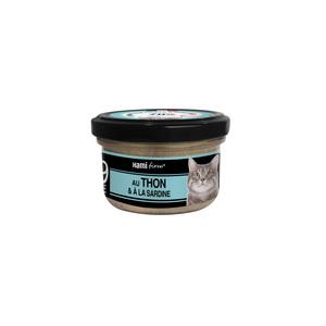 Aliment pour chat Recette n°39 au thon, à la truite et carottes 80 g 407791