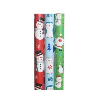 Rouleaux de papier cadeau enfants - 70x200 cm 407906
