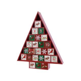 Calendrier de l'avent arbre - 5x32x38 cm 407918