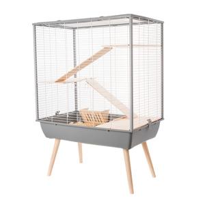 Cage Neo Cosy Gris 78x48x80 cm 408121