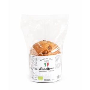 Mini Panettone traditionnel pur beurre bio en sachet de 100 g 408377