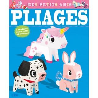 Mes Petits Amis Mes premières Créations en Pliage  6 ans Éditions Lito 408589
