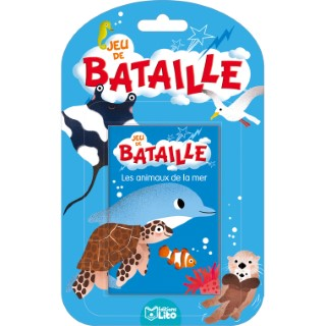 Les Animaux de la Mer Jeux de Bataille 4 ans Éditions Lito 408628