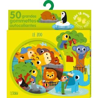 Le Zoo Gommettes pour les Petites Mains 18 mois Éditions Lito 408655