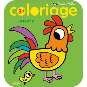 Coloriage La Ferme Coloriage des Tout-petits Marion Billet 3 ans Éditions Lito 408661