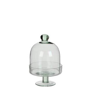 Diny Cloche en verre Transparent H 22,5 x Ø 14,5 cm 409489