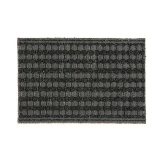 Paillasson d'extérieur Topaze noir et gris polypropylène - 60 x 40 cm 41010