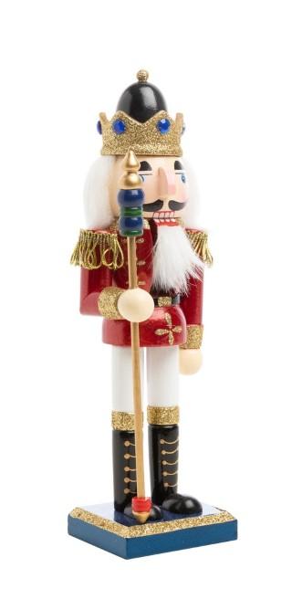 Figurine casse-noisette - 10x10x25 cm