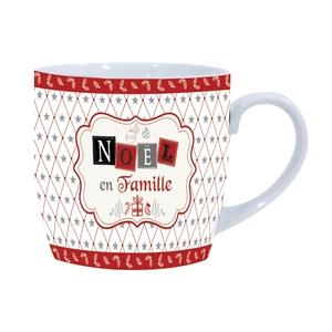 Mug de Noël en famille – 9x9 cm 411599