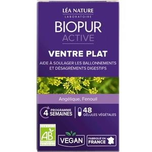 Gélules végétales active ventre plat en boite de 48 unités 413646