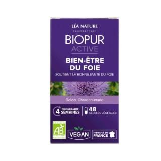 Gélules végétales active bien-être du foie en boite de 48 unités 413647
