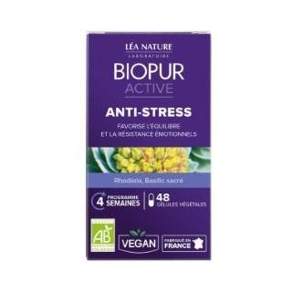 Gélules végétales active anti stress en boite de 48 unités 413658