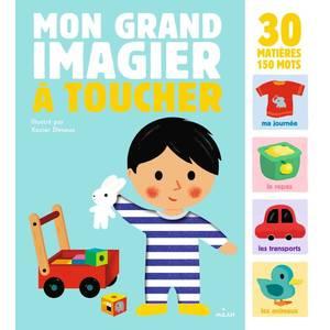 Mon Grand Imagier à Toucher Mon Grand Imagier à Toucher dès 1 an Éditions Milan 413750