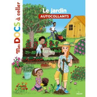 Le Jardin Mes Docs à Coller dès 3 ans Éditions Milan 413753