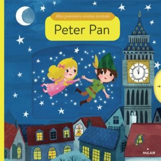 Peter Pan Mes Premiers Contes Animés dès 1 an Éditions Milan 413801
