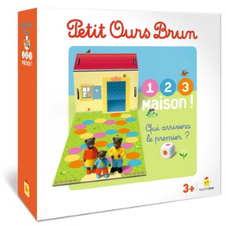 Petit Ours Brun 1,2,3 Maison! à partir de 3 ans Bayard Jeux 413811