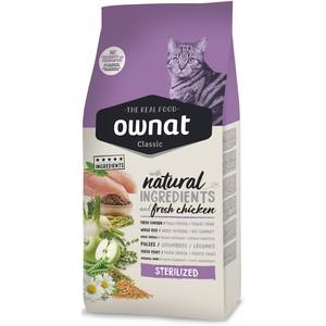 Croquettes pour chat stérilisé Ownat grain free just 3 kg 413899