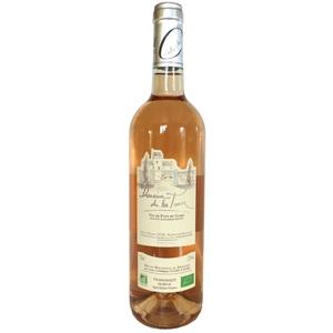 Vin rosé IGP Vin de pays du Gard BIO Domaine de Latour Caladoc 75 cl