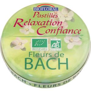 Pastilles confiance et relaxation bio en boite de 50 g 415777