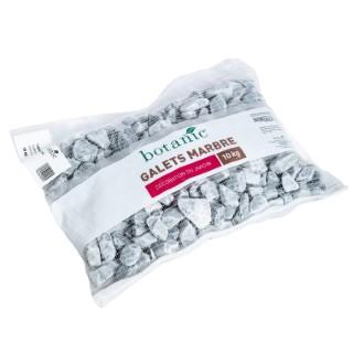 Galets roulés de marbre gris bleu calibre 20 à 40 mm en sac de 10 kg 416020